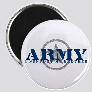 Army - I Support My Brother Magnet