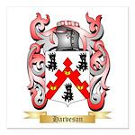 Harveson Square Car Magnet 3