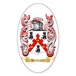 Harveson Sticker (Oval 10 pk)