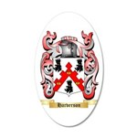 Harverson 20x12 Oval Wall Decal