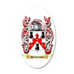 Harverson 35x21 Oval Wall Decal