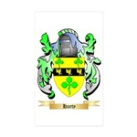 Harty Sticker (Rectangle 50 pk)