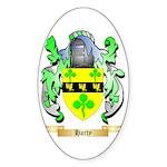 Harty Sticker (Oval 50 pk)