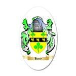 Harty 35x21 Oval Wall Decal