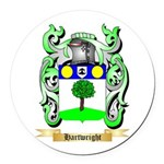 Hartwright Round Car Magnet