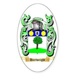 Hartwright Sticker (Oval)