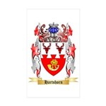 Hartshorn Sticker (Rectangle 50 pk)