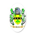 Hartry Oval Car Magnet