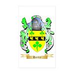 Hartry Sticker (Rectangle 10 pk)