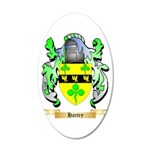 Hartry 20x12 Oval Wall Decal
