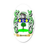 Hartrick Oval Car Magnet