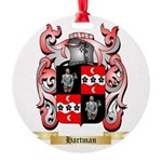 Hartman Round Ornament