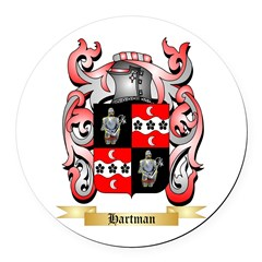 Hartman Round Car Magnet