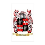 Hartman Sticker (Rectangle 50 pk)