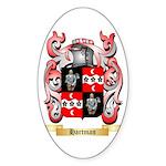 Hartman Sticker (Oval 10 pk)