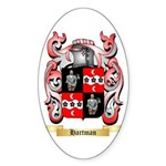 Hartman Sticker (Oval 50 pk)