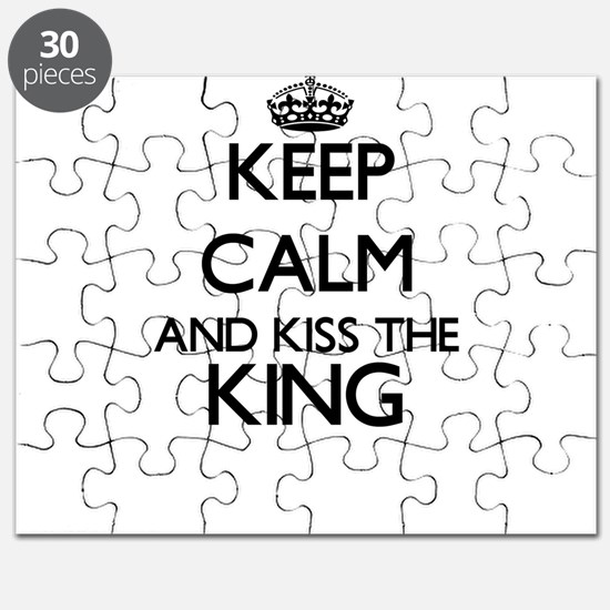 Keep calm and kiss the King Puzzle
