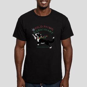 Holiday Paws Border Collie Split T-Shirt