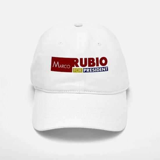 Marco Rubio for President V1 Baseball Baseball Cap