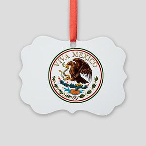 VIVA MEXICO Picture Ornament