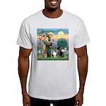 StFrancis-Lab & Sheltie Light T-Shirt