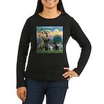 StFrancis-Lab & S Women's Long Sleeve Dark T-Shirt