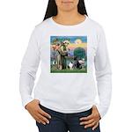 StFrancis-Lab & Shelti Women's Long Sleeve T-Shirt
