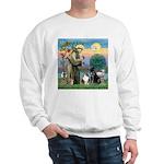StFrancis-Lab & Sheltie Sweatshirt