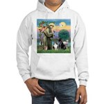 StFrancis-Lab & Sheltie Hooded Sweatshirt