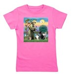 StFrancis-Lab & Sheltie Girl's Tee
