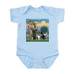 StFrancis-Lab & Sheltie Infant Bodysuit