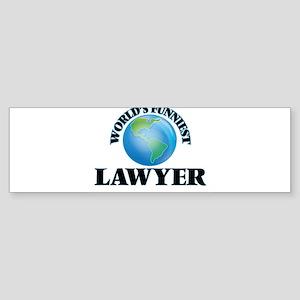 World's Funniest Lawyer Bumper Sticker