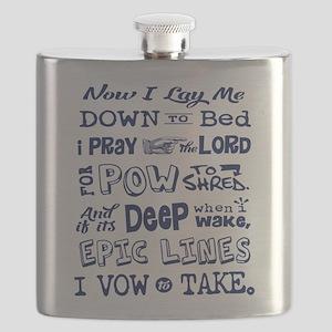 Snow Prayer Flask