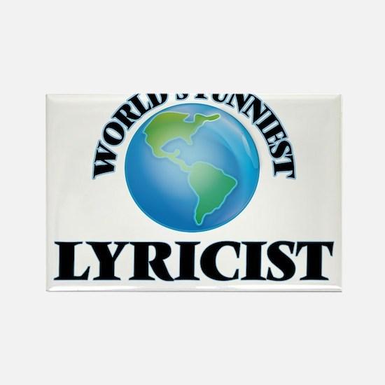 World's Funniest Lyricist Magnets