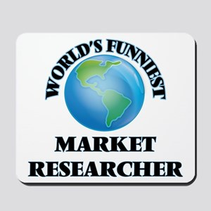 World's Funniest Market Researcher Mousepad