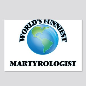 World's Funniest Martyrol Postcards (Package of 8)