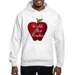 Worlds Best Teacher Apple Hoodie
