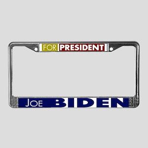 Joe Biden for President V1 License Plate Frame