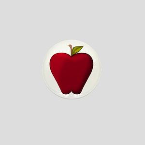Red Apple Mini Button