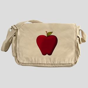 Red Apple Messenger Bag