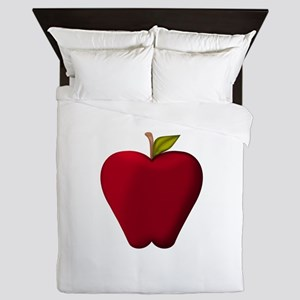 Red Apple Queen Duvet
