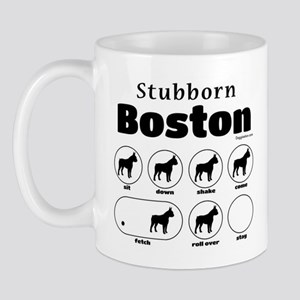 Stubborn Boston v2 Mug