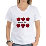 Personalizable Red Apples T-Shirt