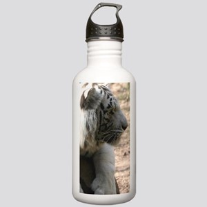 White Tiger at Play Stainless Water Bottle 1.0L
