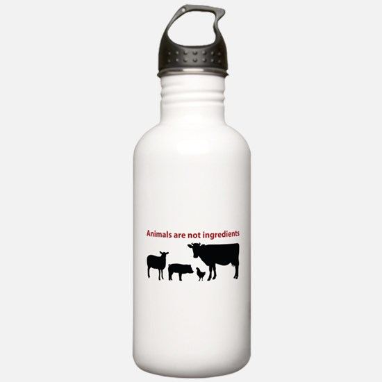 Cute Go vegan Water Bottle