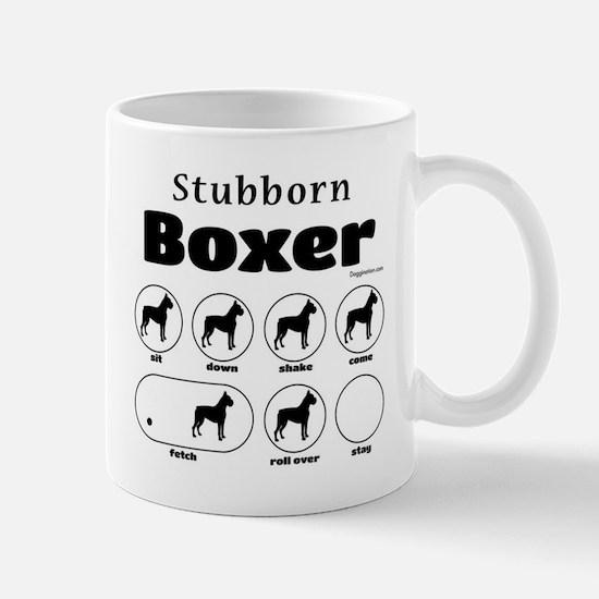 Stubborn Boxer v2 Mug