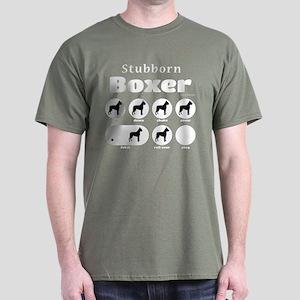 Stubborn Boxer v2 Dark T-Shirt