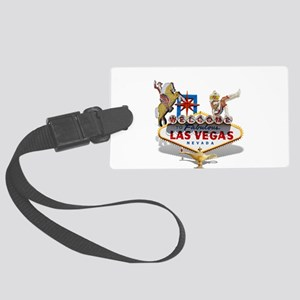 Las Vegas Welcome Sign Large Luggage Tag