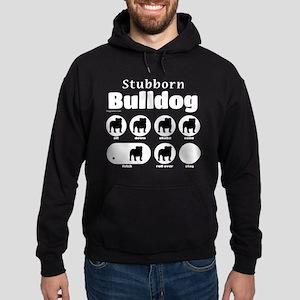 Stubborn Bulldog v2 Hoodie (dark)
