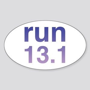 Run 13.1 Purple Sticker Sticker